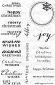 Paula Pascual Designs - Christmas Essentials - Clear Stamp - CICSA6252